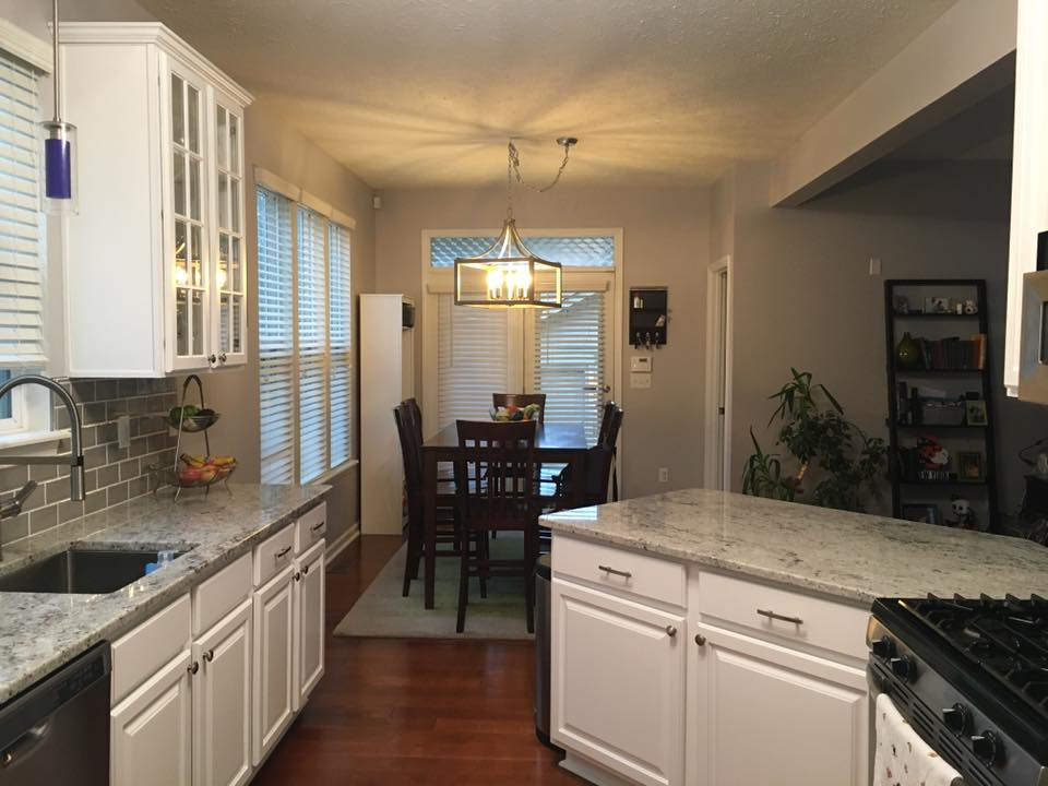 Colonial White Countertop Indianapolis